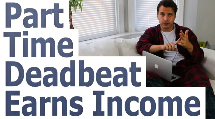"Earn Side Income With Amazon Affiliate Program - ""The Part Time Deadbeat"""