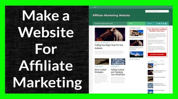 Make a Website for Affiliate Marketing Part 4 of 11