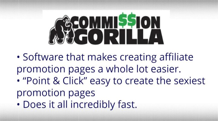 Commission Gorilla Review - How to Make Money as Affiliate - 25% Off Discount