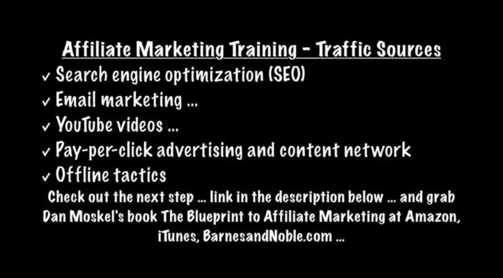 Affiliate Marketing Training - Traffic Sources