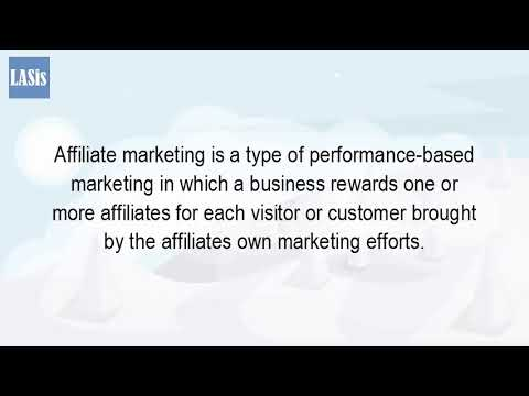 What Is An Affiliate Marketing?
