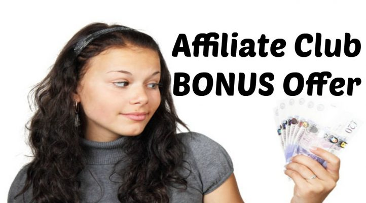 My Affiliate Club Bonus Offer - Affiliate Marketing Training Program