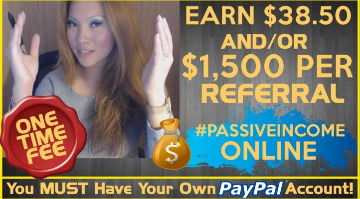✅ High Ticket Affiliate Marketing (Earn Up To $1,500 Per Referral Via PayPal)