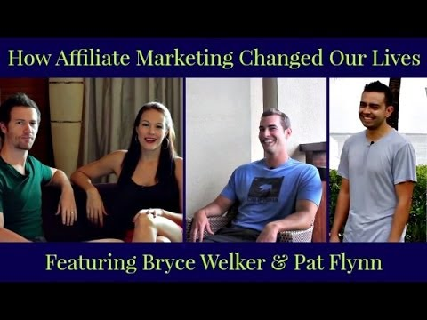 How Affiliate Marketing Changed Our Lives featuring Pat Flynn