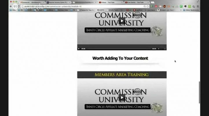 Commission University Review - Learn How to Become and Affiliate Marketer