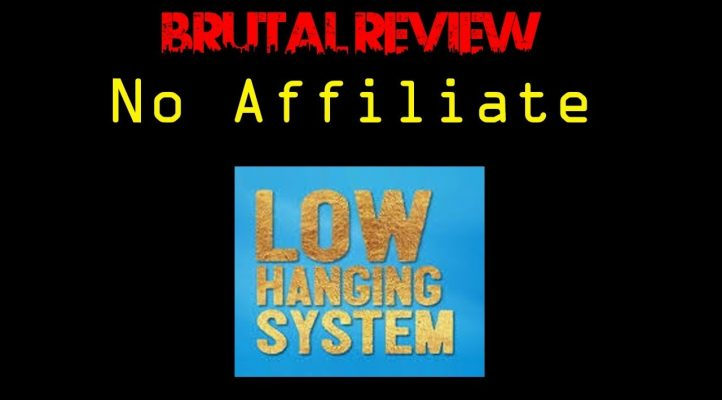 No Affiliate No BS Review of the Low Hanging System POD Training