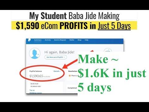 BEST WAY TO MAKE MONEY | Same day ecom profits