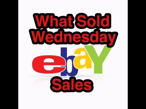 What Sold Wednesday | eBay Reseller Sales & Profits | Items Thats Sold