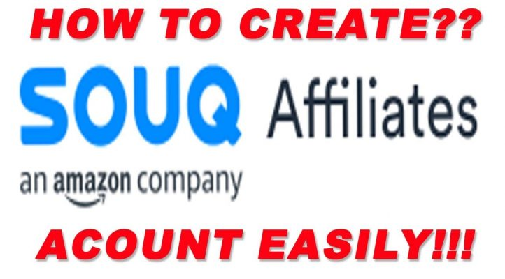 How to || Create || Souq.com Affiliate Program Acount IN || Saudi Arabia || UAE || Egypt || Kuwait?