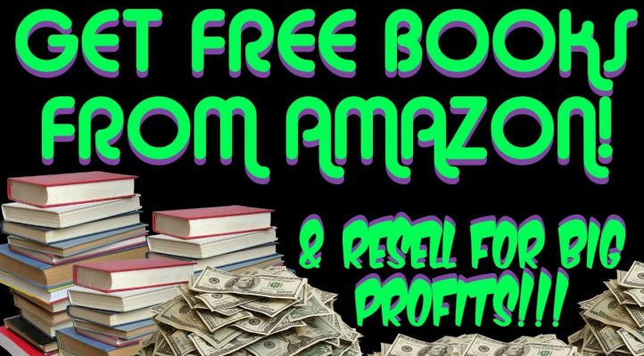 How To Get Free Books On Amazon & Resell For Big Profits With FBA In 2018!
