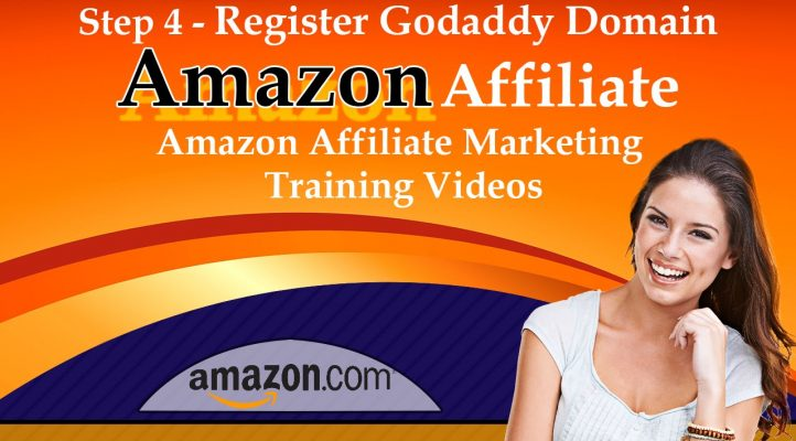 Step 4 Register Godaddy Domain - Amazon Affiliate Marketing Training Videos