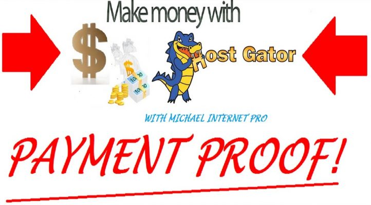 HOSTGATOR REVIEW + AFFILIATE PROGRAM MARKETING $200 PROOF! with Michael Internet Pro