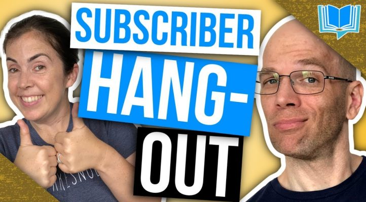 LIVE: Self-Publishing Questions and Answers | Hangout for Subscribers