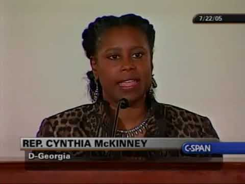 911 Commission Report Ft Cynthia McKinney on C-SPAN