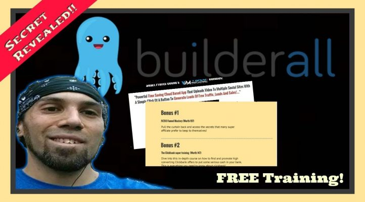 Free Affiliate Marketer Training | How To Build A Bonus Page With Builderall