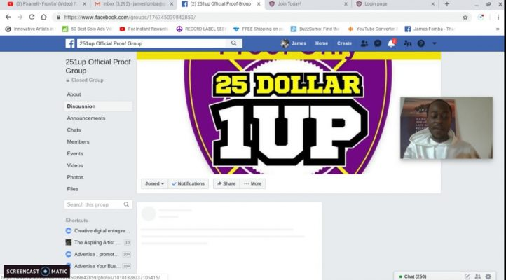 copy and paste profits! new 25 dollar 1 up proof review and training