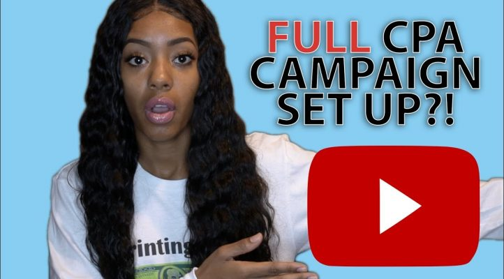 CPA Full Campaign Set Up? | Affiliate Marketing 2017 #PrintingMoney University