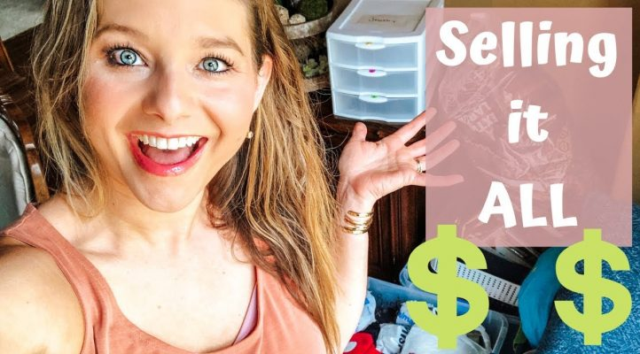 MY FIRST GARAGE SALE - EVERYTHING MUST GO!