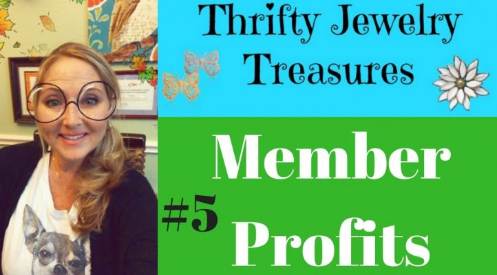 Thrifty Jewelry Treasures Member Profits Sold on eBay #5