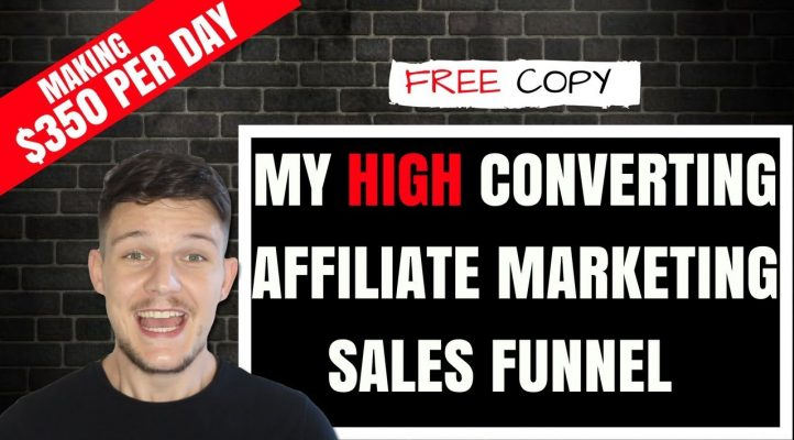 $350 Per DAY with SIMPLE Affiliate Marketing Sales Funnel | Passive Income
