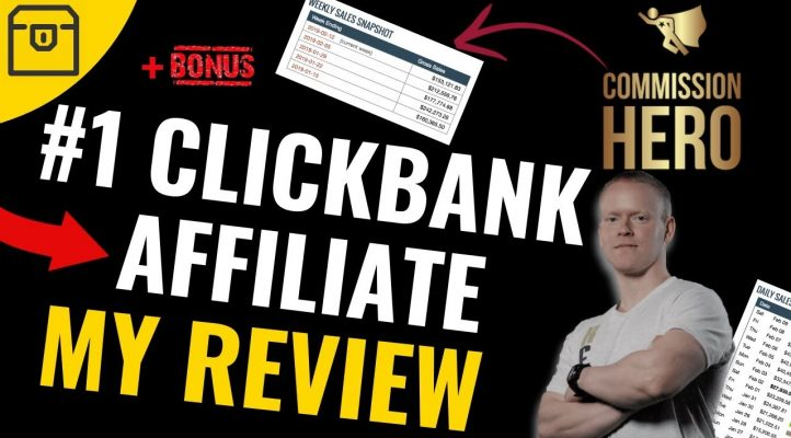 Commission Hero Review by Robby Blanchard - Clickbank Top Affiliate