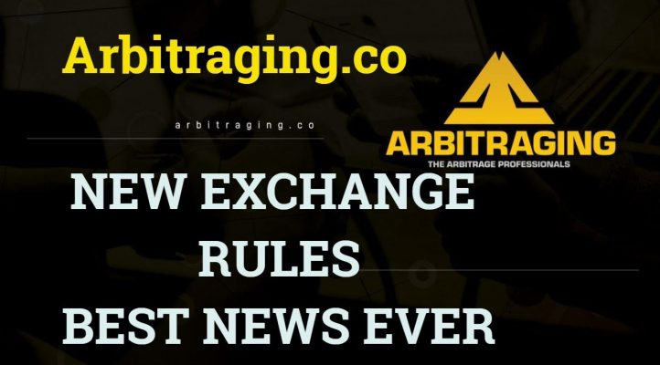 New Exchange Rules  #Arbitraging #aBOT #Profits