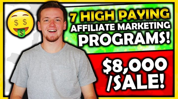 7 High Paying Affiliate Programs: Earn $8000 In Commissions Per Sale