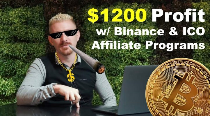 $1200 Profit w/ Binance & ICO Affiliate Programs