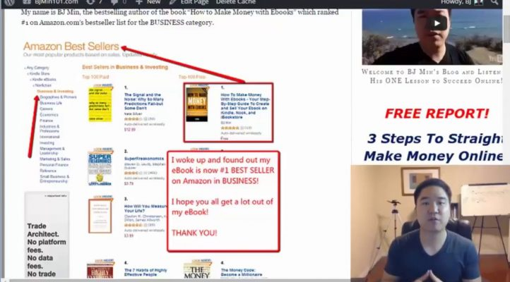 BJ Min's AFFILIATE MAKRKETING 101 Online Video Training Course