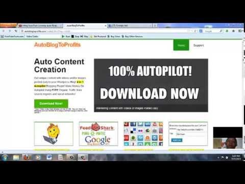 Review  - Auto Blog To Profits