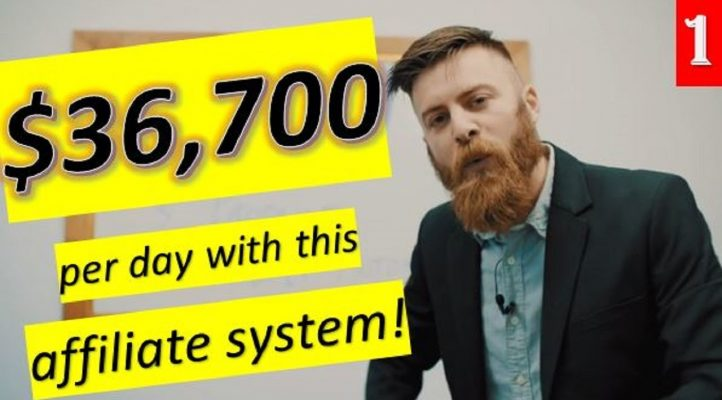 How to make money online | $36,700 per day with this affiliate system!