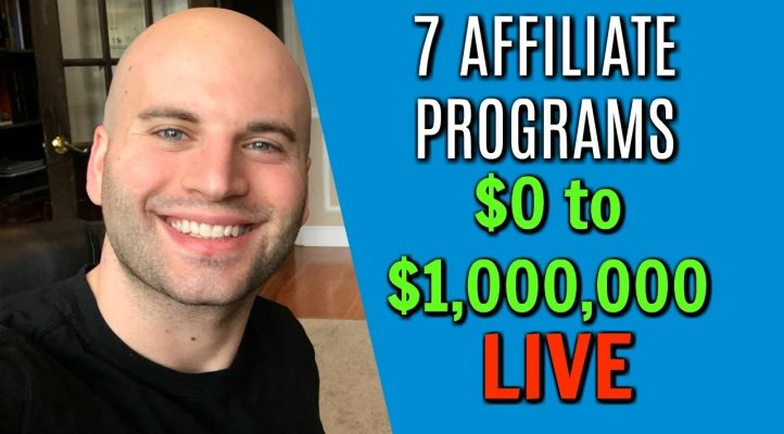 7 Affiliate Programs Which Earned Me Over $1,000,000 - My Affiliate Journey