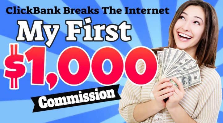 ✅Clickbank Breaks the Internet 💰💰| My 1st $1000+ Commission in a Single Sale!