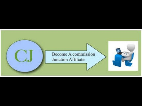 COMMISSION JUNCTION How To Use | CJ Tutorial